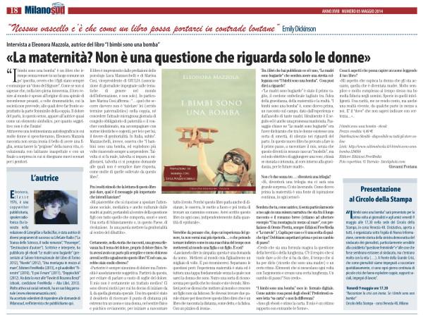 Intervista MilanoSud – I bimbi sono una bomba