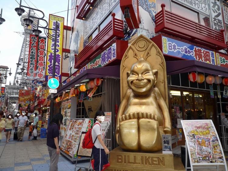 Billiken a Osaka